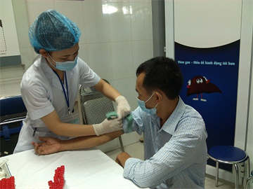 Most of the Vietnamese discovered at a late stage liver disease